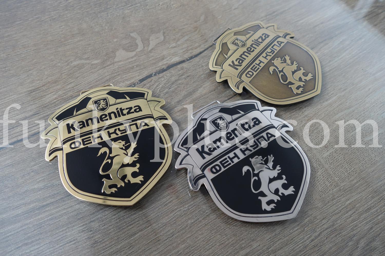 Метални медали по проект